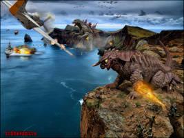 Human Invasion by Legrandzilla