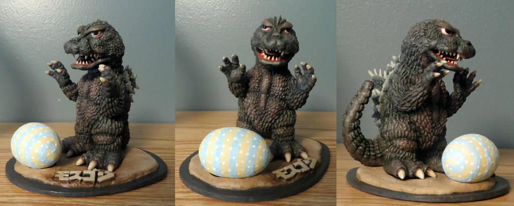 Ultra Ya Hobby Godzilla 64 Finished by Legrandzilla