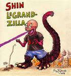 Shin LeGrandzilla by Legrandzilla
