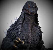 Sakai Godzilla 2002 Commission Portrait by Legrandzilla
