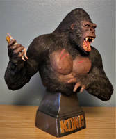 Model Mansion King Kong Bust by Legrandzilla