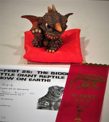 Baragon Won Best Figure at G-Fest! by Legrandzilla
