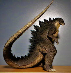 Tanaka Godzilla 2014 Commission 6 by Legrandzilla