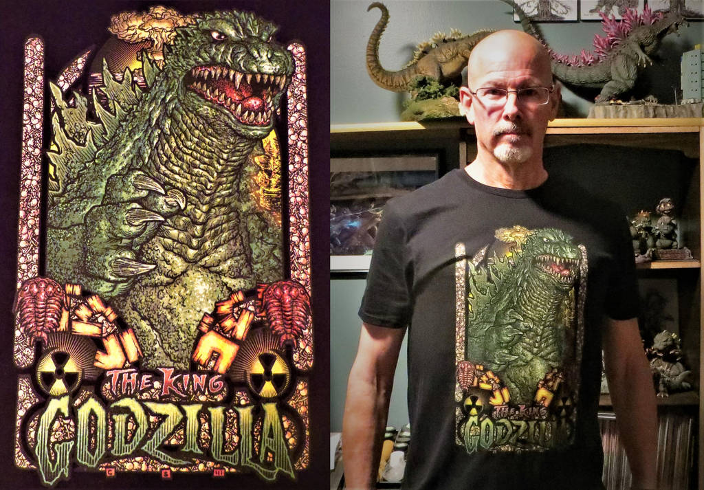 King Godzilla T Shirt by Legrandzilla