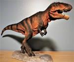 Cretaceous Creations Giganatosaurus Finished! by Legrandzilla