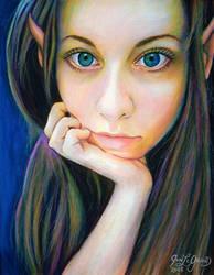 Lihnida Elf by Legrandzilla