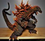 T's Facto Godzilla Evolution Commission Finished! by Legrandzilla
