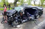 Badly Wrecked Car Sg by fatenano
