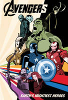 Avengers Movie Poster: Version 2 by Tim4