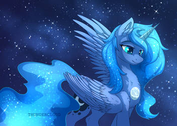 Lunar Heart by DragonAtaxia