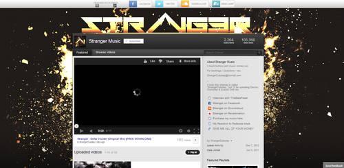 Stranger Youtube Design by Lychaeus