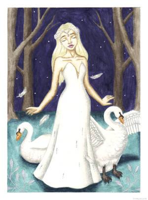 Swan Lake by PrettyAlice95