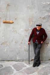 Old italian man by Ondadiluce