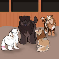 That is a Big Puppy by Rhari