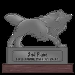 Riverside Races 2nd place Trophy by Rhari