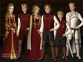 House Lannister by BlackRoseOfSummer