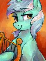 Lyra Heartstrings by johling