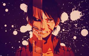 Shingeki No Kyojin Eren Wallpaper by DeathB00K