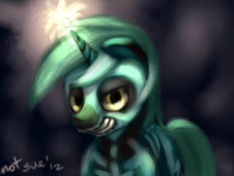 Skeleton Lyra by Im-not-sue
