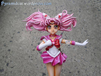 Sailor Moon Crystal Chibimoon Sculpture 2 by Pyramidcat