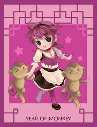 Year of Monkey by muhoho-seijin