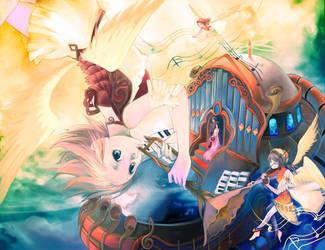 Blessing in the Sky by muhoho-seijin