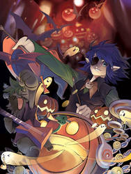 Halloween 2010 by muhoho-seijin