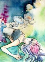 Jellyfish and I II by muhoho-seijin