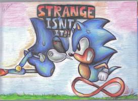 strange isnt it by supersonicartdrawer