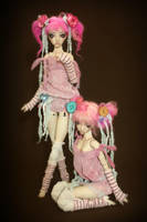 Cotton Candy Collection by Forgotten Hearts by FHdolls