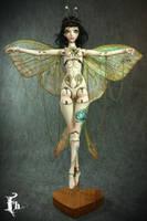 Luna , a Porcelain BJD Forgotten Hearts doll by FHdolls
