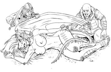 Neesha Strange Creature Ink by Sciphan