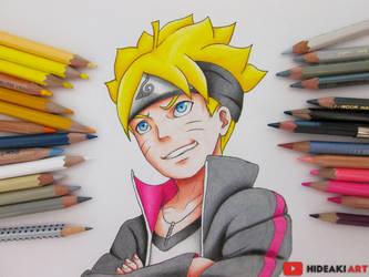 Boruto Uzumaki || Boruto: Naruto the Movie by HideakiArtReal