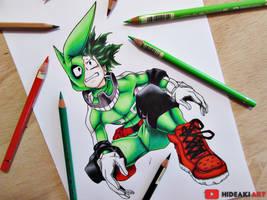 Izuku Midoriya || Boku no Hero Academia by HideakiArtReal