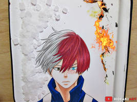 Shouto Todoroki || Boku no Hero Academia by HideakiArtReal