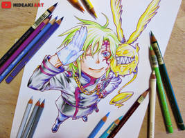 Allen Walker || D.Gray-man by HideakiArtReal