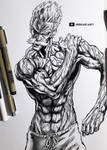 Bang || One Punch Man by HideakiArtReal