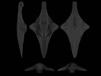 Wraith Strike Cruiser (nonsmoothing) Orthos by EpytronOmega