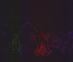 All Around The Campfire by dxm2000