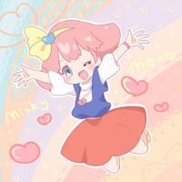 Momo by sakuramori-sumomo