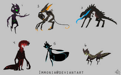 Dark Adopts 1 [Point Option Included!] by Adopt-Monstar