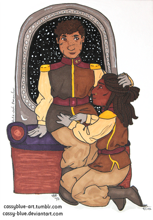 Breq and Seivarden by Cassy-Blue