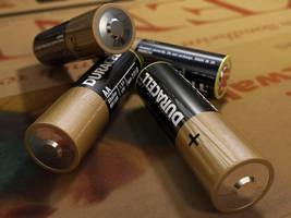 AA batteries by rocneasta