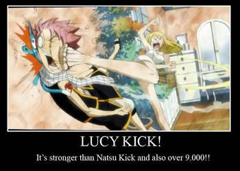 Lucy Kick by uzukun89