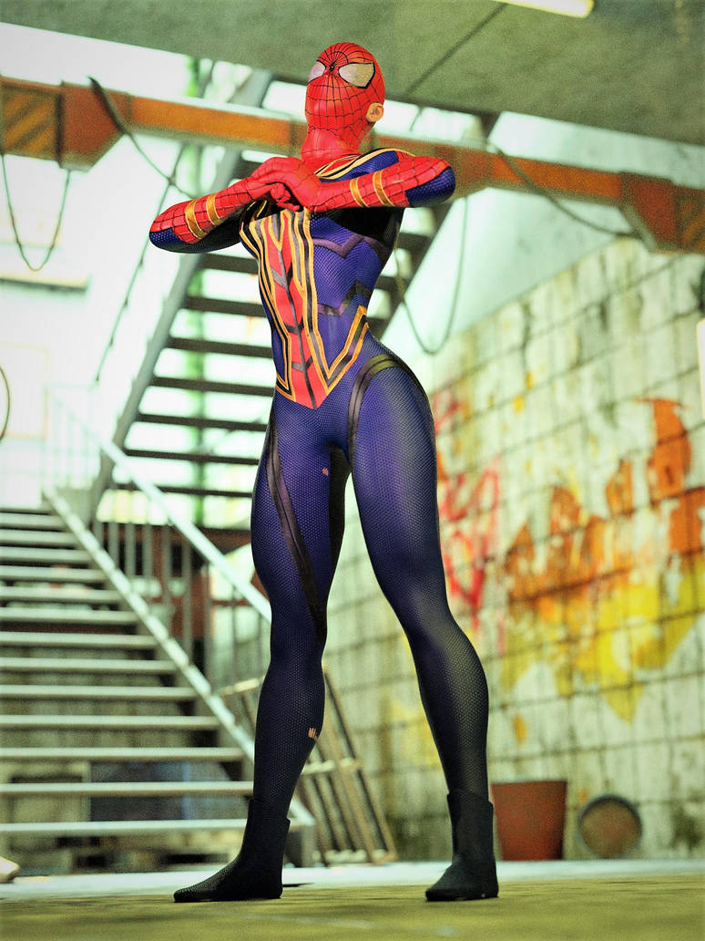 Iron Spider Girl 3 by DahriAlGhul