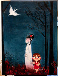 The Girl and the Ghost 2 by cwgabriel