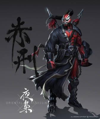 Red Punisher by SKtneh
