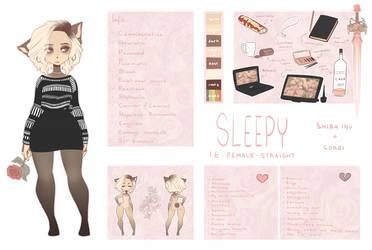 Sleepy ref 2018 by SleepyGrim