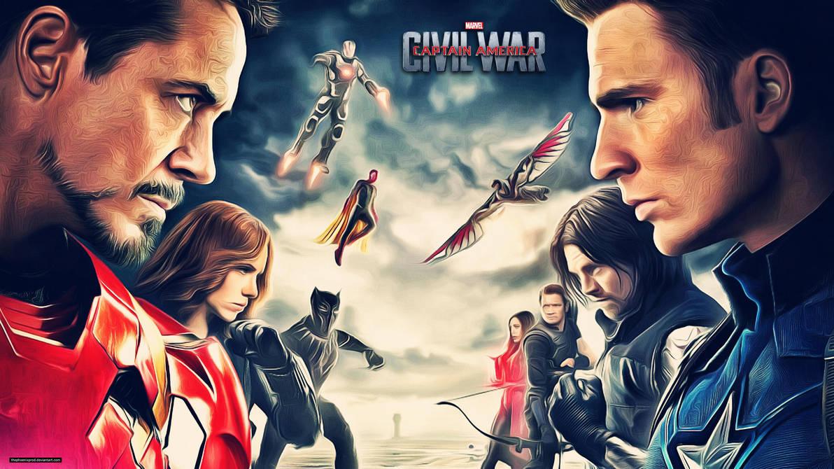 Captain America Civil War 4k: Civil War (Wallpaper 4k) By