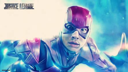 Justice League - Flash (Wallpaper 4k) by thephoenixprod